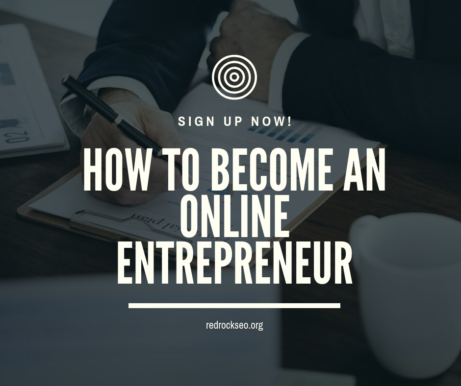 How to become an online entrepreneur